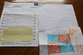 ドミニカ共和国からの手紙